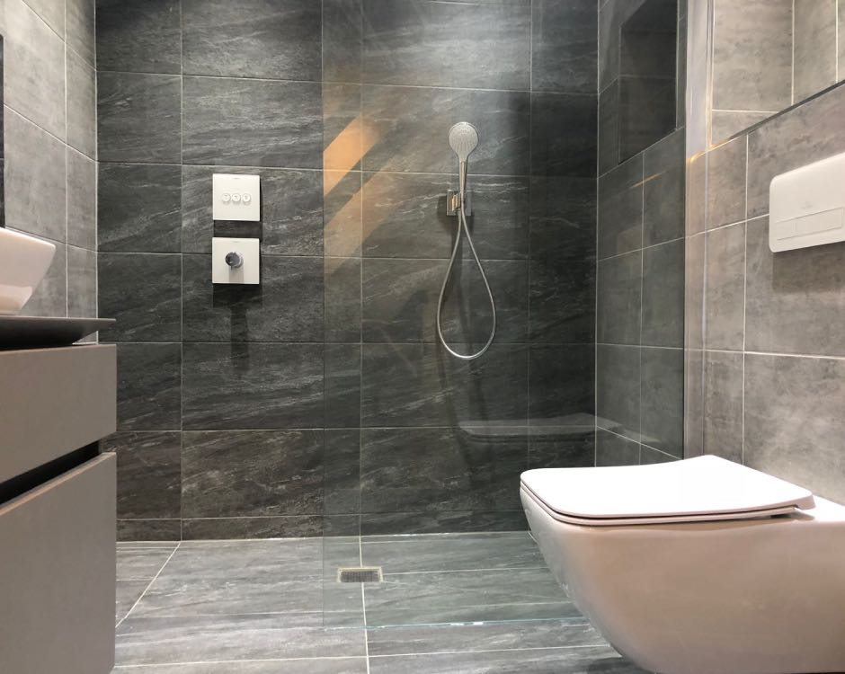 Bathroom installation in Whitefield