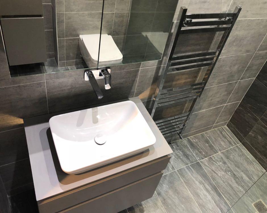 Bathroom installation in Whitefield