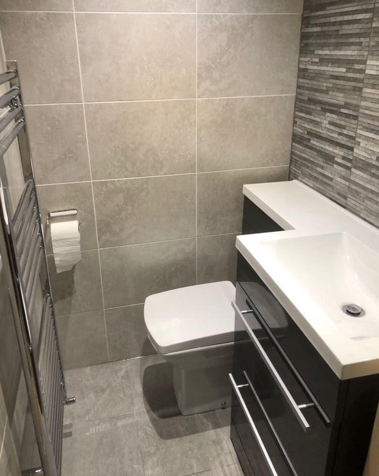Bathroom installation in Stockport
