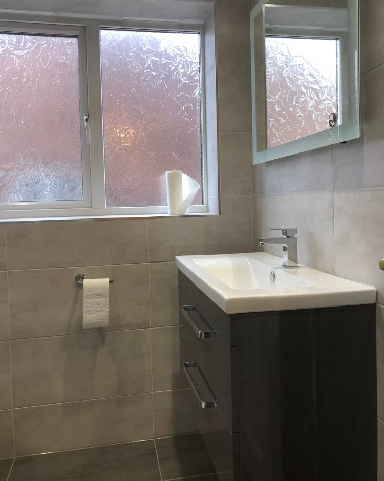 Bathroom renovation in Bury, Greater Manchester