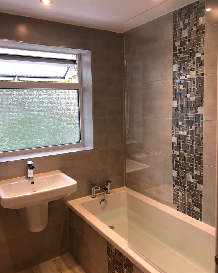 Bathroom renovation project Royton