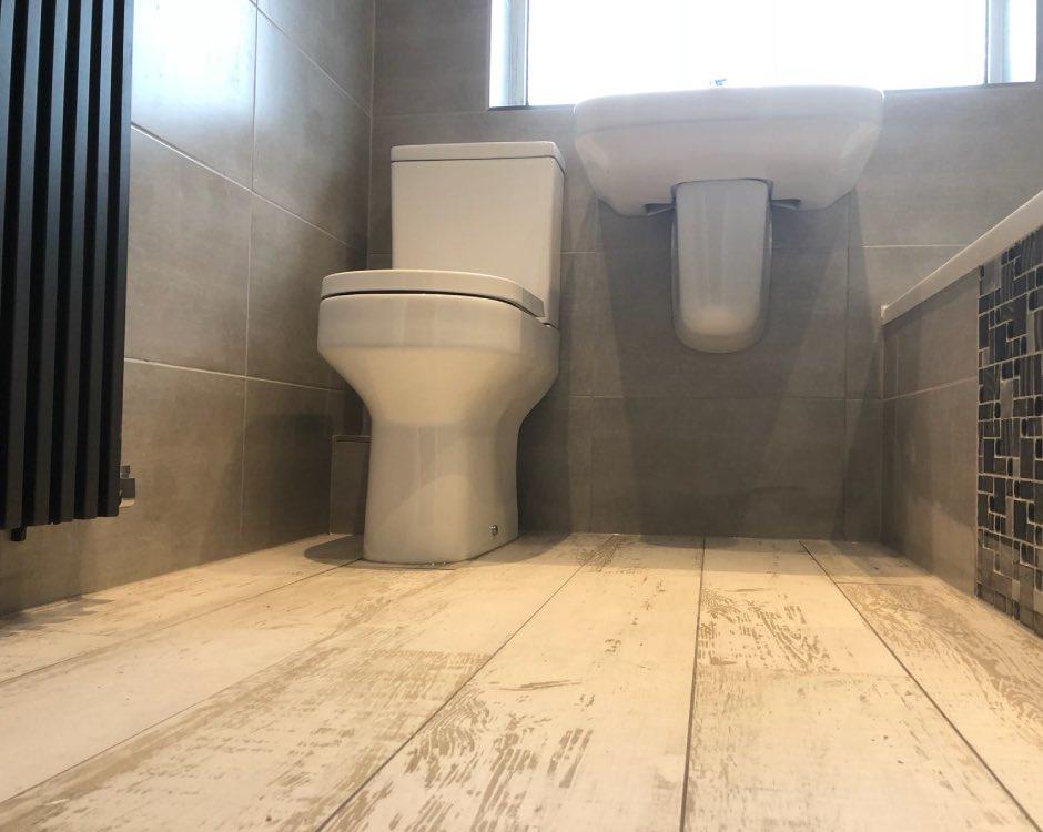 Bathroom renovation project Royton