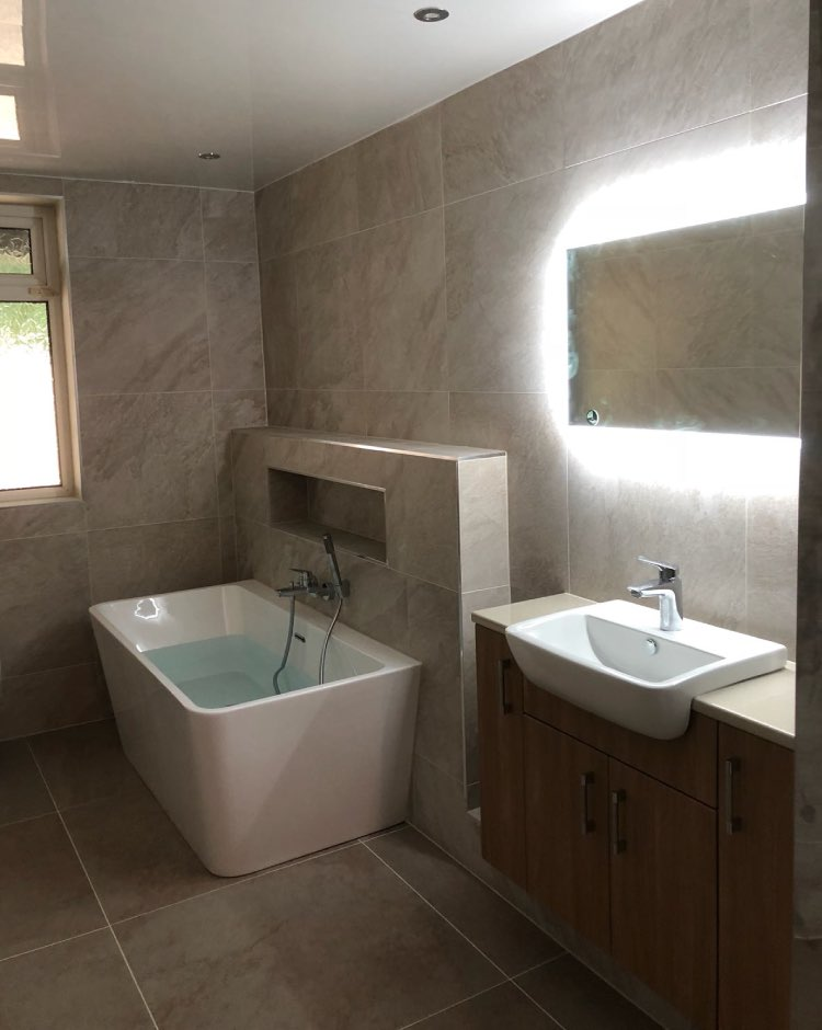 Bathroom installation in Bamford