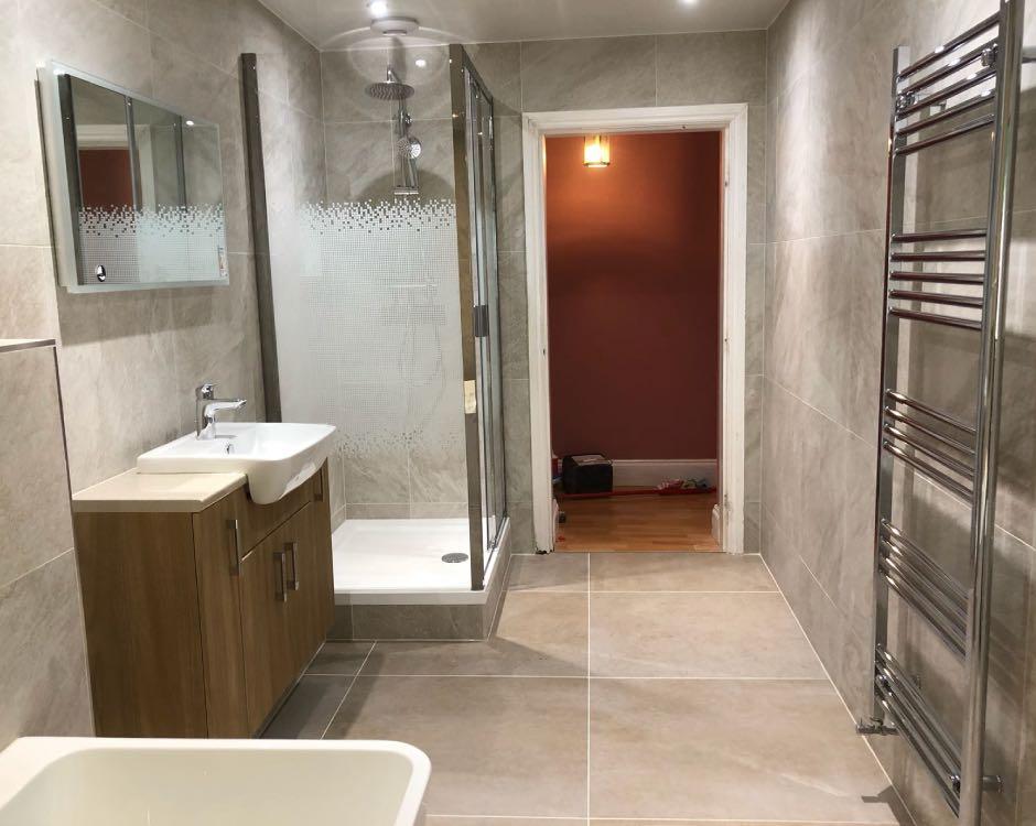 Bathroom installation in Bamford