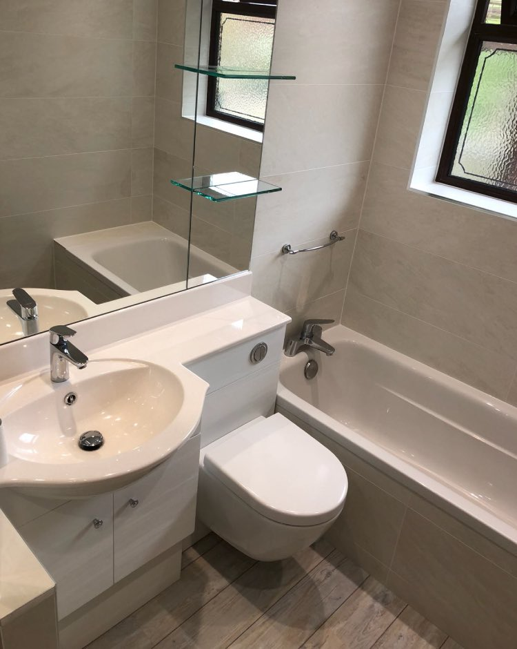 Bathroom installation in Whitworth