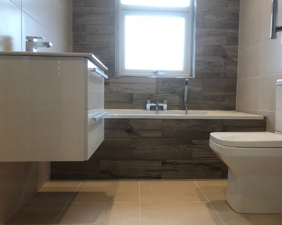 Bathroom installation in Moorside