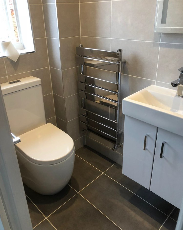 Chadderton new bathroom installation