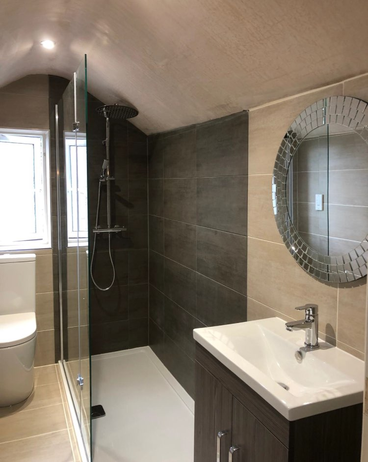 Dormer shower room