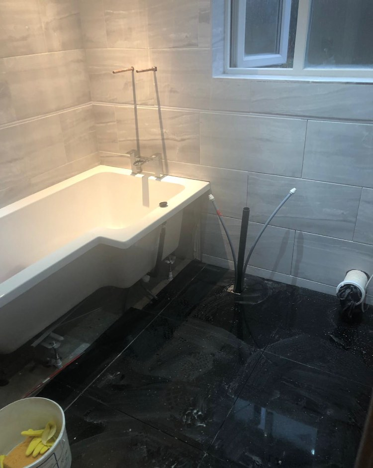 New bathroom installation Middleton