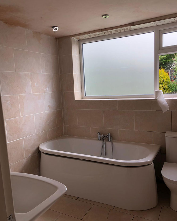 New bathroom installation Smithy Bridge