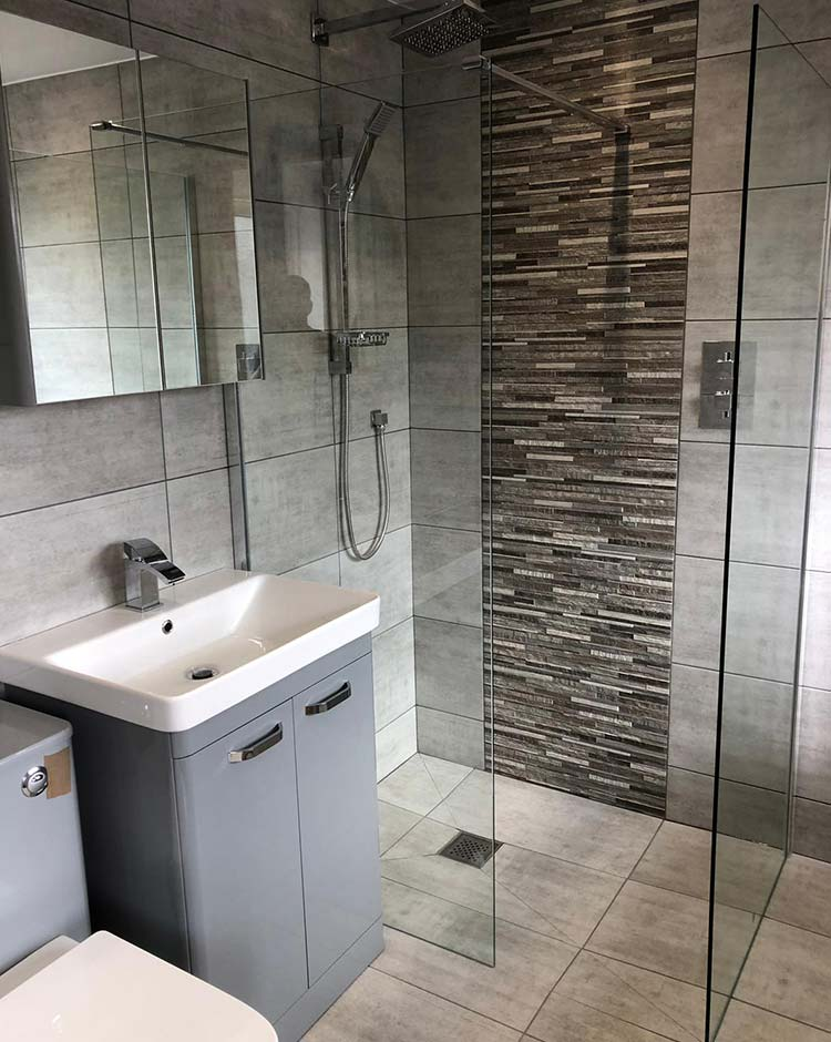 New wet room installation Thorpe