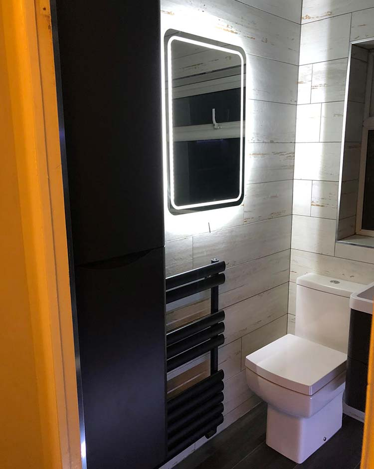 Bathroom renovation in Royton
