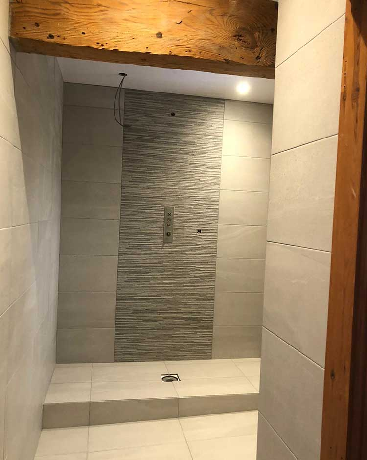 En-Suite bathroom in Sowerby Bridge